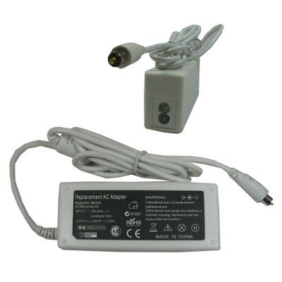 Laptop/Notebook AC Adapter/Battery Charger Power Supplying Cord for Apple PowerBook G4 15 Inchs Aluminum/Titanium