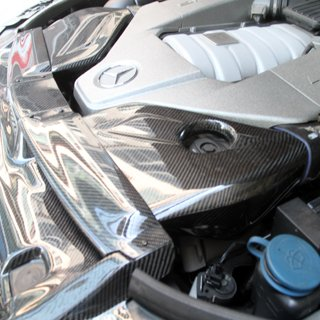 MHP Boca C63 AMG Carbon Fiber Air Inlets with High Flow Filters