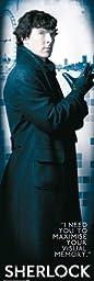 Sherlock Solo Door Poster