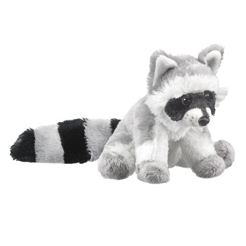 Wild Life Artist Raccoon Super Soft Plush Stuffed Animal - 1