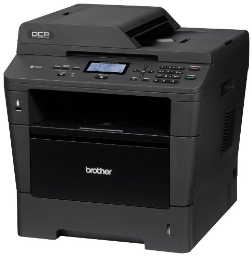 Brother Printer Dcp8110Dn Monochrome Printer With Scanner And Copier And Networking