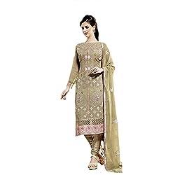 Hetal's Boutique Women's Georgette fabric salwar suit