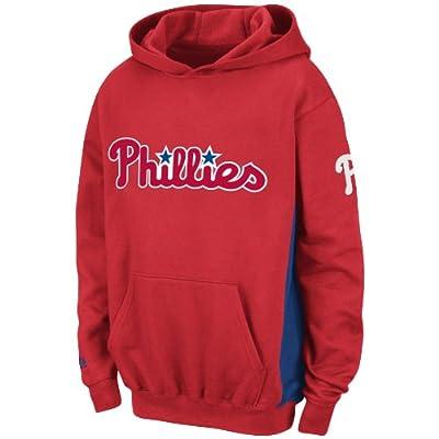 MLB Philadelphia Phillies Lil Captain Hooded Fleece Pullover Boys'