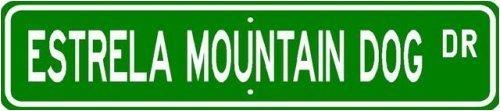 estrela-mountain-dog-street-sign-22-x-6-sticker-graphic-auto-wall-laptop-cell