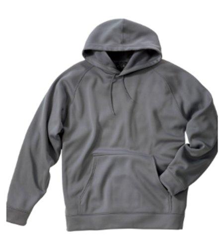 Charles River Apparel Mens Casual Bonded Polyknit Sweatshirt, Xsmall, Grey