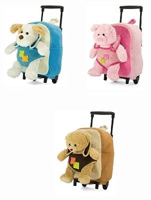 Girls Boys Toddler Small Wheeled Rucksack Backpack School Flight Cabin Bag Kids Childrens