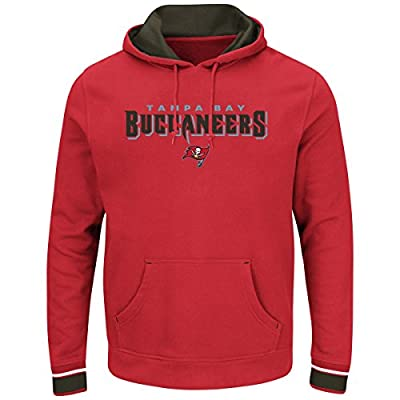 Tampa Bay Buccaneers Majestic NFL Championship Men's Pullover Hooded Sweatshirt