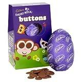 Cadbury Dairy Milk Buttons Easter Egg Medium 162g