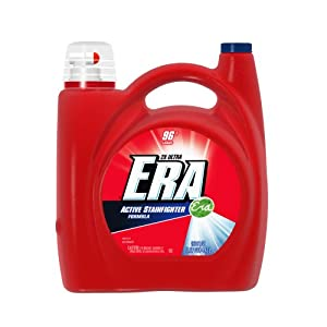 Era 2x Ultra Regular Liquid Detergent 96 Loads 150 Fl Oz