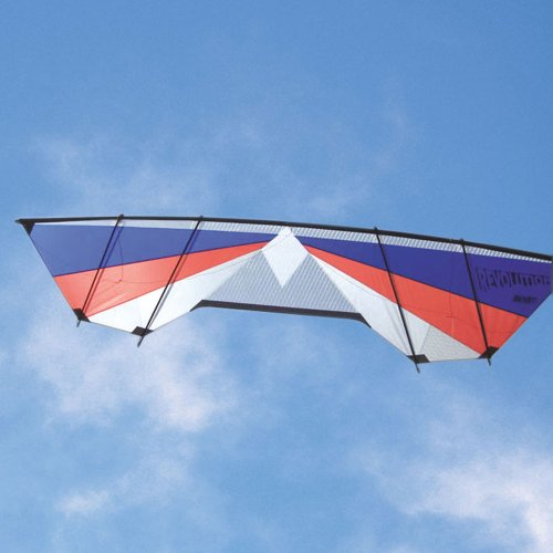 Revolution Blast Red White Blue Quad Line Power Stunt Kite Made in the USA