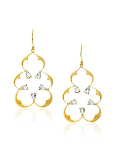 Eddera Jaipur Aquamarine Earrings