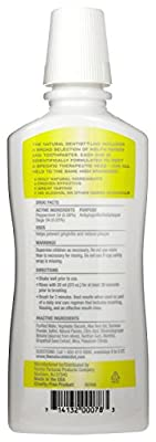 The Natural Dentist Healthy White Pre-Brush Rinse, Clean Mint, 16.9 Ounce