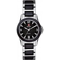 Swiss Military 06-7168.7.04.007 Ladies Swiss Eleganza Two Tone Watch