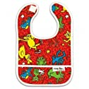 Bumkins Keith Haring Waterproof Starterbib, Animal