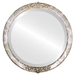 Athena Circle in Champagne Silver