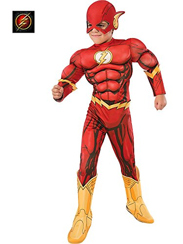 Rubie's Costume DC Superheroes Flash Deluxe Child Costume