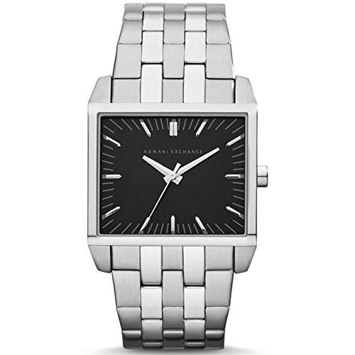 Armani Exchange AX2213 Silver Steel Bracelet & Case Mineral Men's Watch