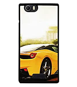Fuson Premium 2D Back Case Cover Stylish car With Multi Background Degined For Micromax Canvas Nitro 2 E311::Micromax Canvas Nitro 2 (2nd Gen)