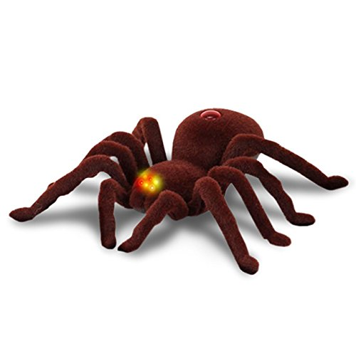 【 BIGサイズ 目が光る 】 毒グモ ラジコン 2CH 蜘蛛 本物のような...