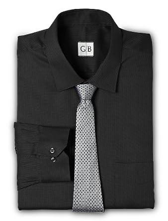 Geoffrey Beene Big & Tall Tonal Stripe Dress Shirt
