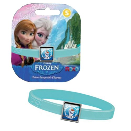 Disney Frozen Bracelet with Olaf Charm - Blue - 1