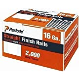 Paslode 650285 2-Inch by 16 Gauge Galvanized Straight Finish Nail (2,000 Per Box)