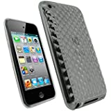 BPM Clear Protective Armour Silicone Gel Case & screen Protector for Apple iPod Touch 4th Generation 4 4g 8gb 32gb 64gb