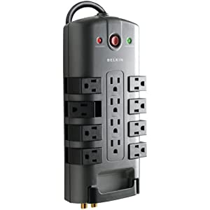 Belkin Pivot Plug Surge Protector 12 Outlets by BELKIN