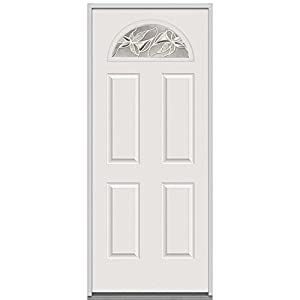 National Door Company EFO659LI28RHDWL Fiberglass Prehung Right Hand In Swing