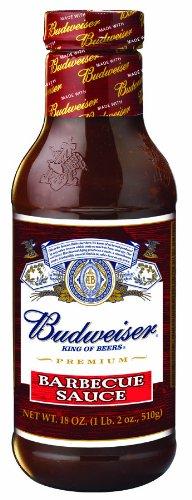 Budweiser Original BBQ Sauce, 18-ounces (Pack of 6)
