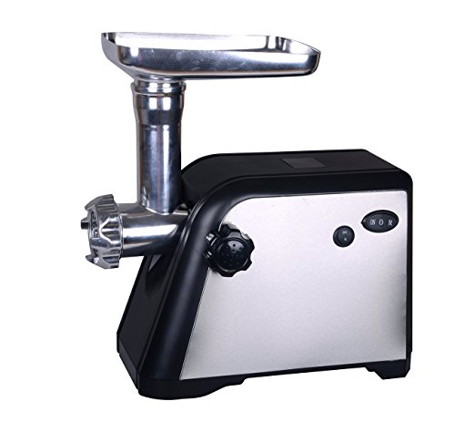 Homeleader® Electric Meat grinder/mincer with 3 cutting plates (Homeleader Electric Meat Grinder compare prices)