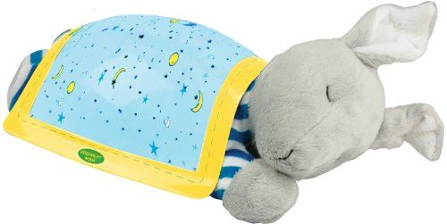 Kids Preferred Goodnight Moon Starry Night Projector Bunny front-10836