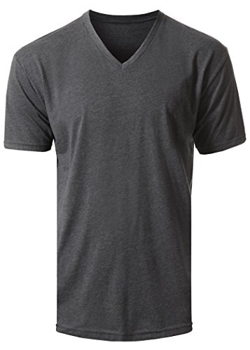 618e8e01b93a Next Level Apparel 6440 Mens Premium Fitted Sueded V-Neck Tee - Import It  All