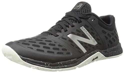 New Balance Women'S Wx20V4 Training Shoe, Black/Silver, 7.5 B Us