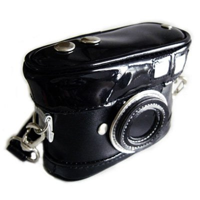 Weiche schwarze Kameratasche (Kamera)