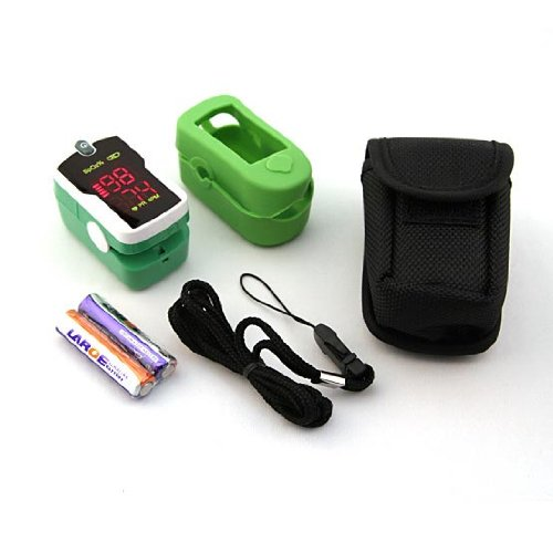 Image of Concord Emerald Freedom Fingertip Pulse Oximeter Combo (B0070WZ5KQ)