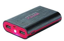 Intex IT-PB6.6K 6600 mAH Power Bank (Black-Red)