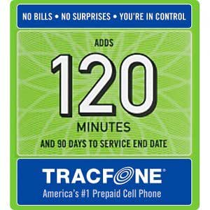 TRACFONE MINUTES, REFILL, TOP UP, RECHARGE, PREPAID $30 (E-mail ONLY)