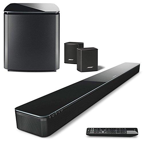 Bose SoundTouch 300 Soundbar w/ Wireless Acoustimass 300 Bass Module & Wireless Surround Speakers - Bundle