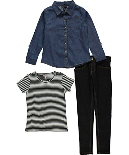 limited-too-girls-big-girls-3-piece-set-woven-shirt-striped-t-shirt-and-pant-black-denim-8