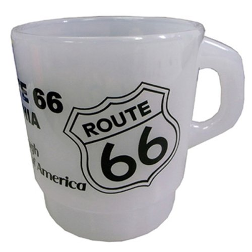 Milky Stacking Mug Cup ROUTE 66
