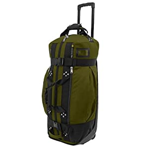 Club Glove Rolling Duffle II Bag : Moss by Club Glove