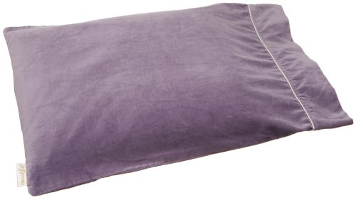 DreamTime Tranquil Sleep Classic Pillow, Lavender Velvet