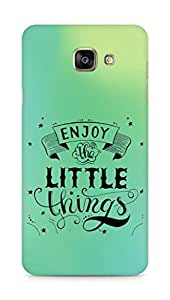 AMEZ enjoy the little things 2 Back Cover For Samsung Galaxy A7 (2016 EDITION)