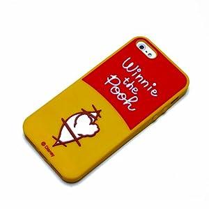 PGA iPhone5 2012 model対応 シリコンソフトケース くまのプーさん PG-DNYIJ082POO