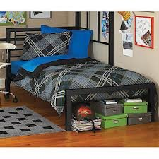 metal twin bed black from yoru zone
