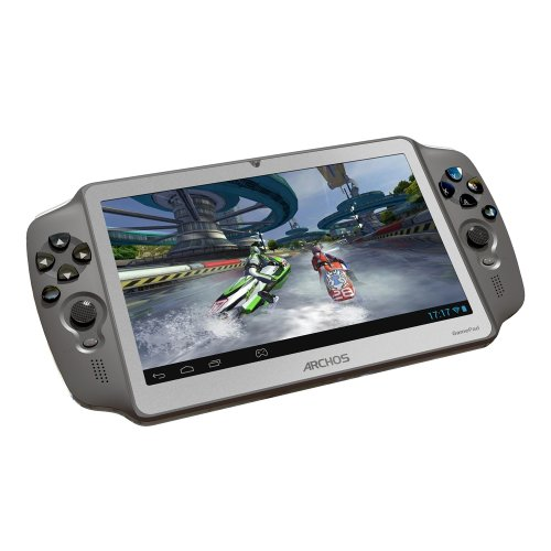 Archos GamePad 7-inch Tablet (Grey) - (ARM Cortex A9 1.6GHz Processor, 1GB RAM, 8GB Flash, Wi-Fi, Camera, Android 4.1)