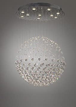 Floating Crystal Ball with Halogen downlighters CTDA   ÷Special Offers