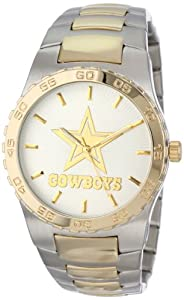 Game Time Mens NFL-EXE-DAL Dallas Cowboys Watch by Game Time