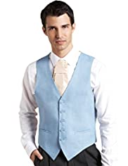 Autograph Pure Linen 5 Button Eveningwear Waistcoat